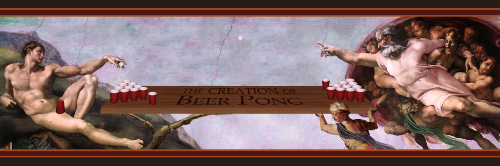 the creation of beer pong